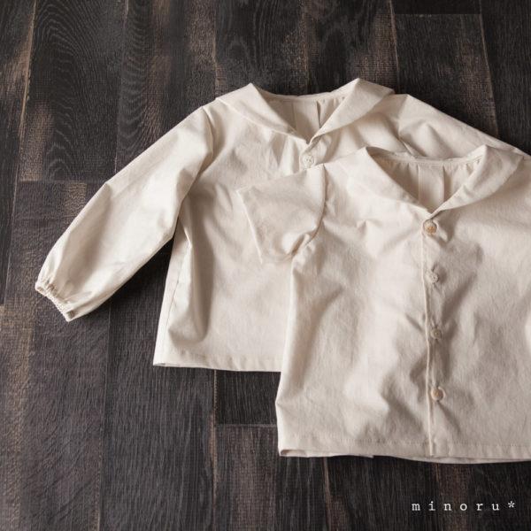 セーラーシャツ バニラホワイト