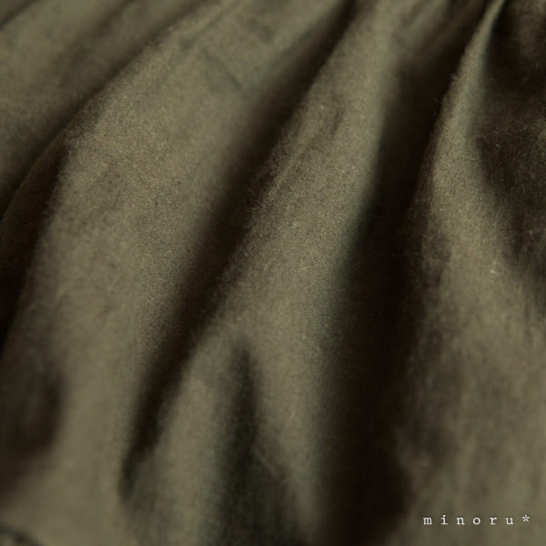 コットンリネン ベスト スーツ カーキグリーン(70-110)|2way