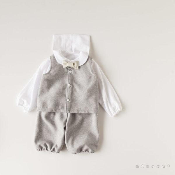 ツイード ベストスーツ(80-110)