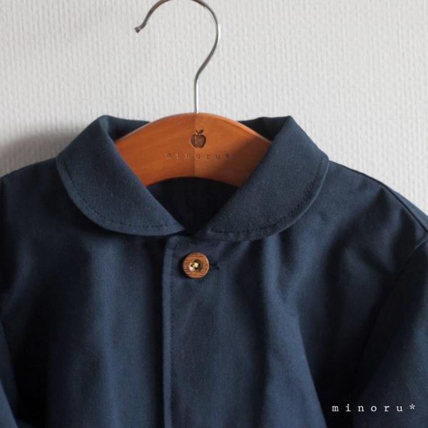 丸襟 ジャケット 濃紺 90cm