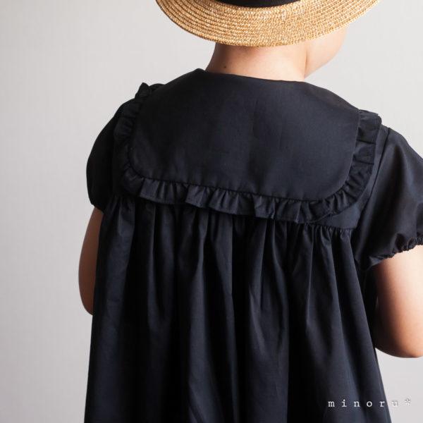 セーラーワンピース 濃紺 (80-120)
